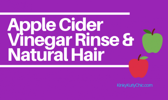 Natural Hair Care, Apple cider Vinegar Rinse