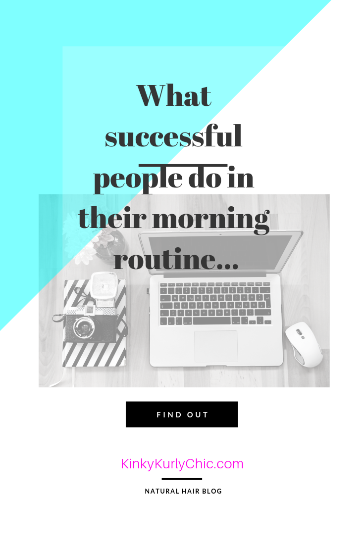 What do successful people do in their morning routine?  Find out here and take a look at some of the routines that successful people do!